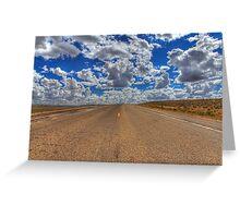 Wyoming clouds Greeting Card