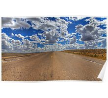 Wyoming clouds Poster