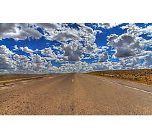 Wyoming clouds Photographic Print