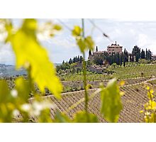 Tuscany Mansion Photographic Print