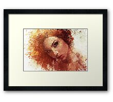 Artist Brushes Framed Print