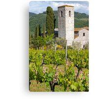 The Church Vineyard Canvas Print