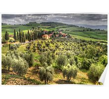Tuscany, Itlay Poster