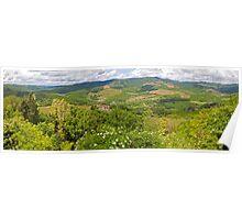 Radda Panorama Poster