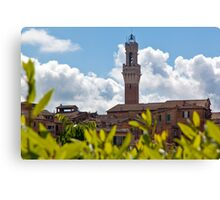 Siena Bell Tower Canvas Print