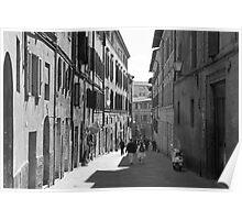 Siena Laneway Poster