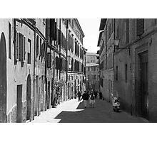 Siena Laneway Photographic Print