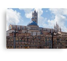 Siena Cathedral Canvas Print