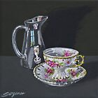 It's teatime by Freda Surgenor