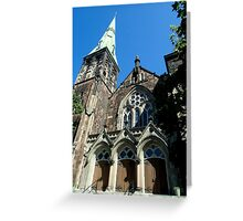 St Andrew and St David United Church Greeting Card