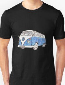 VW Van Split Screen 1966 Unisex T-Shirt