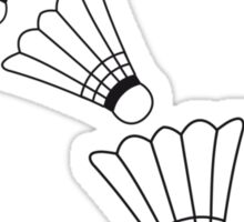 Badmintons Pattern Sticker