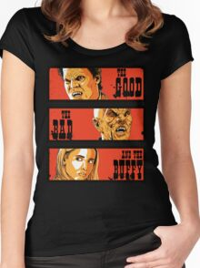 The Good The Bad and The Buffy Women's Fitted Scoop T-Shirt