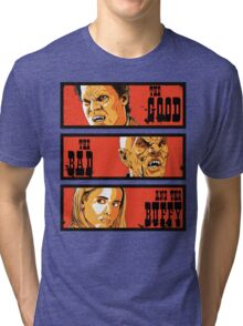 The Good The Bad and The Buffy Tri-blend T-Shirt