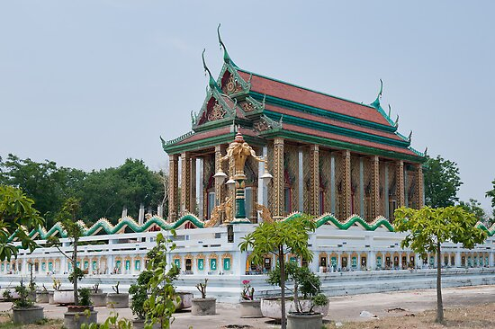 Temple in Thailand by Vickie Burt