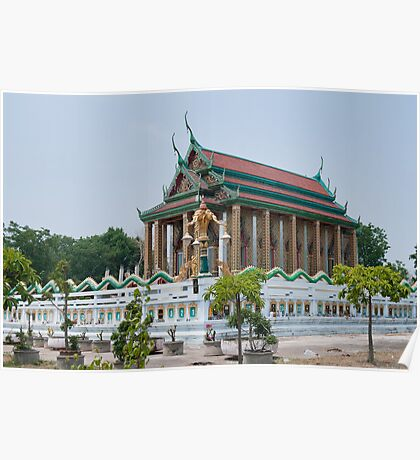 Temple in Thailand Poster