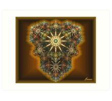 Star Jewelery Art Print