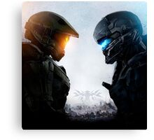 Spartan vs. Spartan Canvas Print