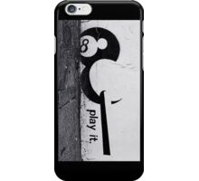 Play it! iPhone Case/Skin