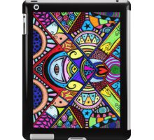 Coloured war between the head and the heart iPad Case/Skin