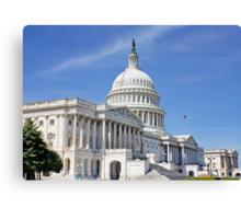 The Capital Building, Washington DC, USA Canvas Print