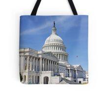 The Capital Building, Washington DC, USA Tote Bag