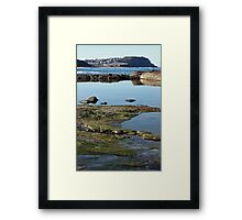 Merewether to Bar via Ladies Framed Print