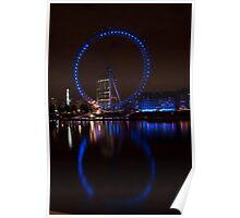8 London Eye Poster