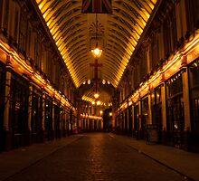 Leadenhall on night by santinopani