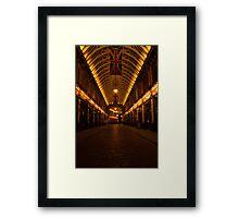 Leadenhall on night Framed Print