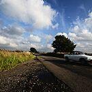 MG Driveby by Nigel Bangert