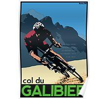 col du Galibier Poster