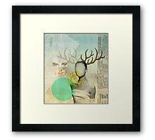 audreys virtue Framed Print