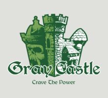 Gray Castle by Bizarro Tees