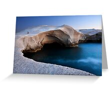 Water on the Moon Greeting Card