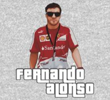 Alonso GTA Style One Piece - Short Sleeve