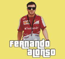 Alonso GTA Style One Piece - Short Sleeve