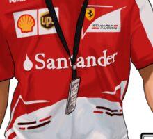 Alonso GTA Style Sticker