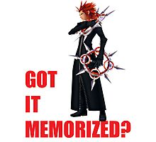 "Axel ""Got It Memorized"" Photographic Print"