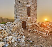 The ancient tower of Drakano, Ikaria, Greece. by Daniel Mikael Chatzis