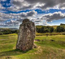 Mottistone The Longstone by manateevoyager
