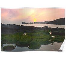 Chagwido, Jeju Island, Korea Poster
