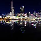 Brisbane River Panorama by Peter Doré
