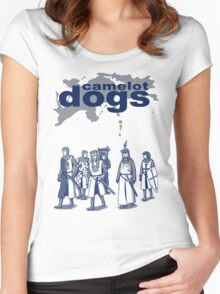 Camelot Dogs Women's Fitted Scoop T-Shirt