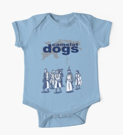 Camelot Dogs One Piece - Short Sleeve