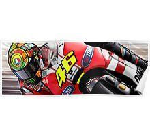 Valentino Rossi - Ducati GP11 Poster