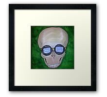Bikers and Bones 1 Framed Print