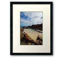 Seaside Inlet Framed Print