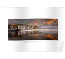 Autumn in the Lakes Poster