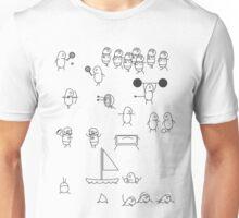 Little men sports day Unisex T-Shirt